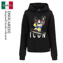 D SQUARED2(ディースクエアード) パーカー・フーディ Dsquared2 hoodie with print