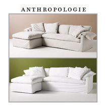 【Anthropologie】ソファ Upcycled Wells Reversible Sectional