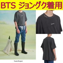 【TRUNK PROJECT】Ripped Hole Pigment T-Shirts ★ BTS着用