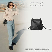 COS★日本未発売/送料無料/追跡有 KNOTTED STRAP LEATHER BAG
