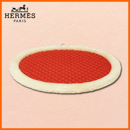 ★HERMES★Coussin biface pour chien grand★ドッグクッション