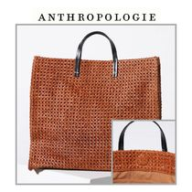 【Anthropologie】トートバッグ ClareV.Leather Rattan Tote Bag