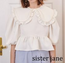★Sister Jane★Pen and Pearls Embellished フリル ブラウス