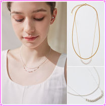 【Hei】move pearl layered necklace〜ネックレス★2021夏コレ