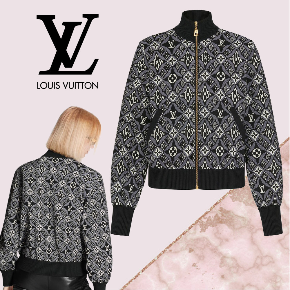 【21SS】Louis Vuitton★SINCE 1854 ヴィンテージジップブルゾン (Louis Vuitton/ブルゾン) 1A8E4X