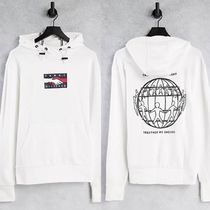 【Tommy Hilfiger】One Planet バックプリントパーカー/White