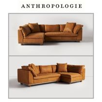 【Anthropologie】ソファ Relaxed Saguaro Leather Sectional