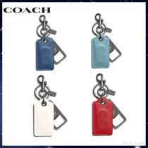 【COACH】Bottle Opener Key Fob With Coach Patch キーホルダー