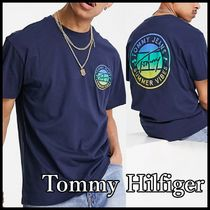 Tommy Hilfiger*サーキュラー ロゴ Tシャツ国内発送★送料込