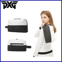 PXG(ピーエックスジー) ポーチ 日本未入荷★PXG★大人気 ポーチバッグ Women color block pouch