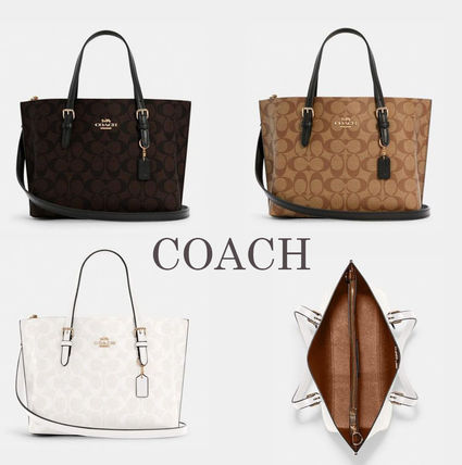 COACH★Mollie Tote 25 モリー トート  C4250 (追跡付き)