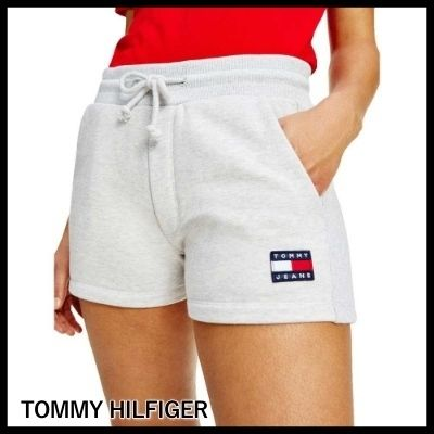 Tommy Jeans トミーバッジ コットンショートパンツ ★送関込★