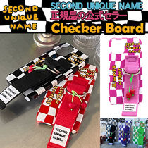 SECOND UNIQUE NAME(セカンドユニークネーム) iPhone・スマホケース 【NEW】「SECOND UNIQUE NAME」Checker Board 正規品