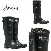Joules Clothing(ジュールズ クロージング) レインブーツ JOULES☆WELLY PRINT CAT&DOG ウェリントンブーツ☆T