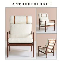 【Anthropologie】チェア Boucle Headrest Lounge Chair