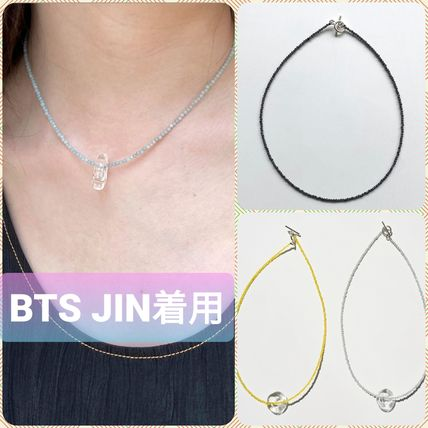 BTS JIN着用【Fotl】CRYSTAL ZERO NECKLACE★ネックレス
