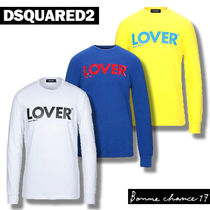 D SQUARED2(ディースクエアード) Tシャツ・カットソー 【DSQUARED2】LOVER ロンT