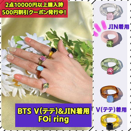 BTS V(テテ)JIN着用【yOungly yOungley】Foi rings★指輪 リング