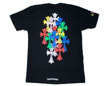 CHROME HEARTS(クロムハーツ) Tシャツ・カットソー 21 SS Chrome Hearts Multi Color Cross Cemetery T-Shirt