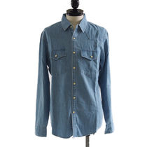 Abercrombie & Fitch(アバクロ) シャツ Abercrombie and Fitch::デニムシャツ:M[RESALE]
