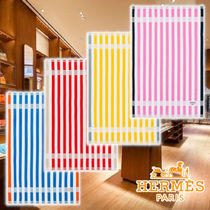 【HERMES】21AW Yachting Striped towel 4colors Cotton タオル