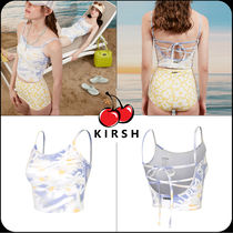 [ KIRSH ]★TWISTED DOODLE CHERRY BACK OPEN CAMISOLE TOP KH