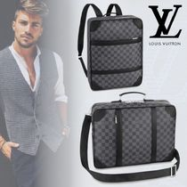 Louis Vuitton ルイヴィトン 3WAY ブリーフ バックパック ダミエ
