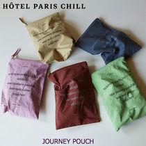 HOTEL PARIS CHILL■JOURNEY POUCH コットン100% ポーチ 全5色