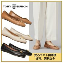 【Tory Burch】レザー フラットシューズ送料・関税込み