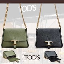 TOD'S直営店◆トッズ タイムレス レザー ミニクロスボディバッグ