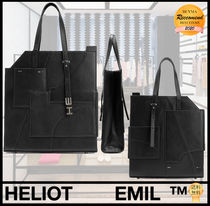 【SALE】HELIOT EMIL★LEATHER TOTE BAG