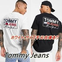 ◇Tommy Jeans◇NYスクリプト バックプリントTシャツ
