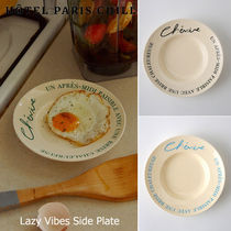 HOTEL PARIS CHILL■Lazy Vibes Side Plate 取り皿 ケーキ皿 3色