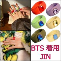 【yOungly yOungley】Tofu ring ★ BTS JIN着用 ★ リング 全6色