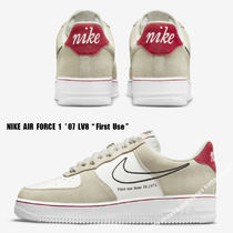NIKE★AIR FORCE 1 ' 07 LV8 First Use★LIGHT STONE