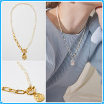 Hei(ヘイ) ネックレス・チョーカー 【Hei】owl pendant pearl necklace〜ネックレス★2021夏コレ