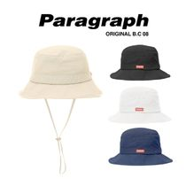【PARAGRAPH】21ss★ HERITAGE RED LABEL BUCKET HAT (No.73)