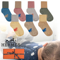 ◆HERMES  出産祝いに♪ 赤ちゃん 靴下 キッズ ギフト