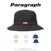 【Paragraph】21ss★ HERITAGE RED LABEL BUCKET HAT No.73