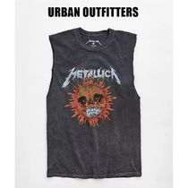 Urban Outfitters(アーバンアウトフィッターズ) Tシャツ・カットソー 【Urban Outfitters x Metallica】メタリカ ノースリーブTシャツ