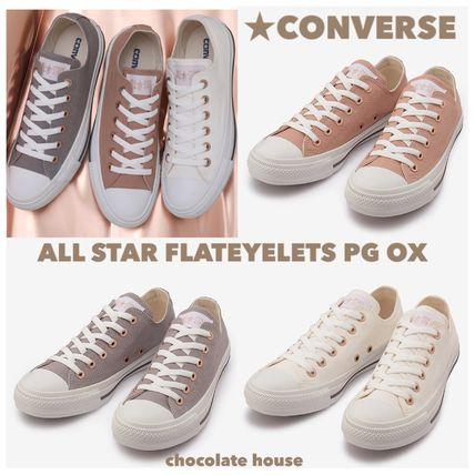 《CONVERSE》ALL STAR FLATEYELETS PG OX フラットアイレッツ