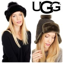 UGG Up Flap Water Resistant Sheepskin ハット 全2色