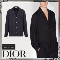 DIOR 21AW新作 パジャマ シャツ トップス シルク サテン