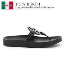 Tory burch miller cloud leather mules
