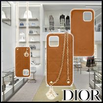 【DIOR】21SS CD IPHONE 12 PRO MAX CASE WITH CHAIN ケース