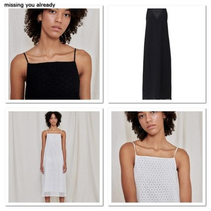 missing you already★Eyelet string dress 2color