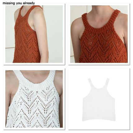 missing you already★Halter sleeveless knit_2color
