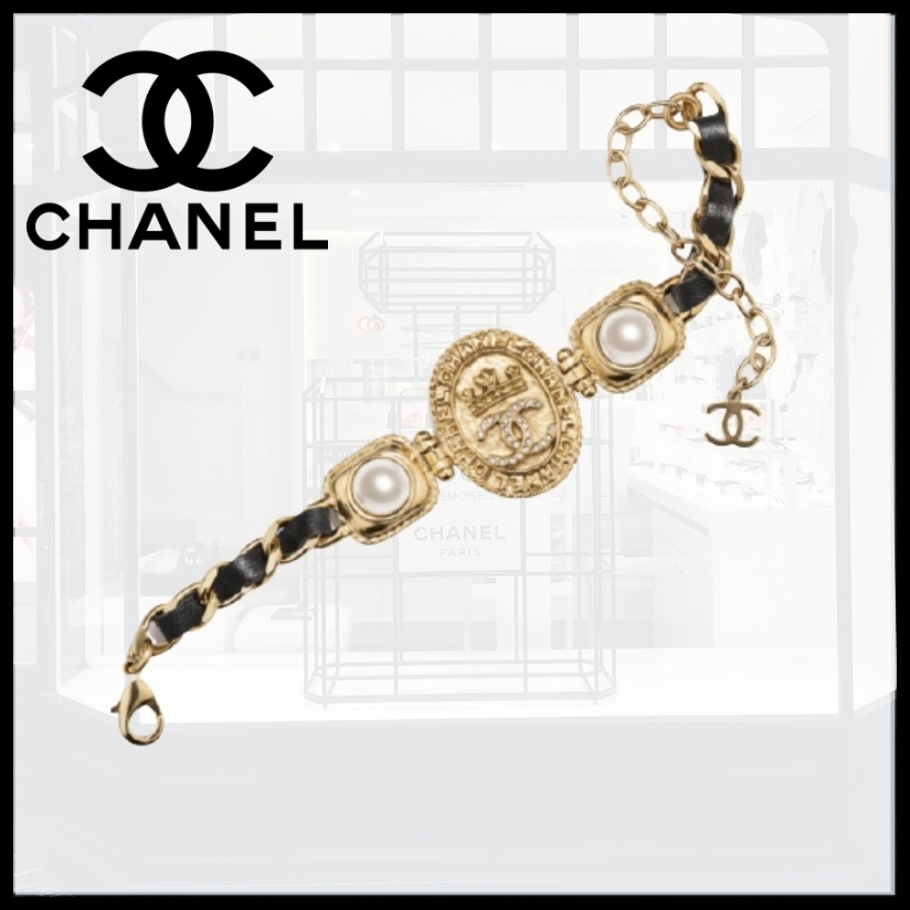 21AW♪新作☆CHANEL☆すごくゴージャス♪ブレスレット (CHANEL/ブレスレット) AB6656 B06127 ND156