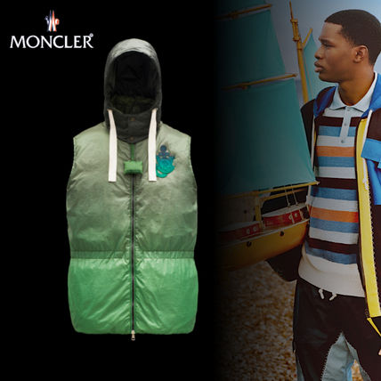 MONCLER〈1 MONCLER JW ANDERSON〉CHESIL ナイロンジレ GRN