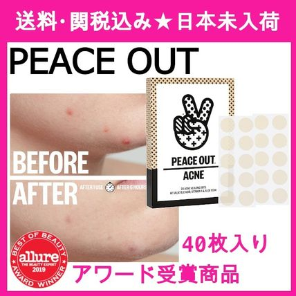 【PEACE OUT】ニキビケア Salicylic Acid Acne Healing Dots 40